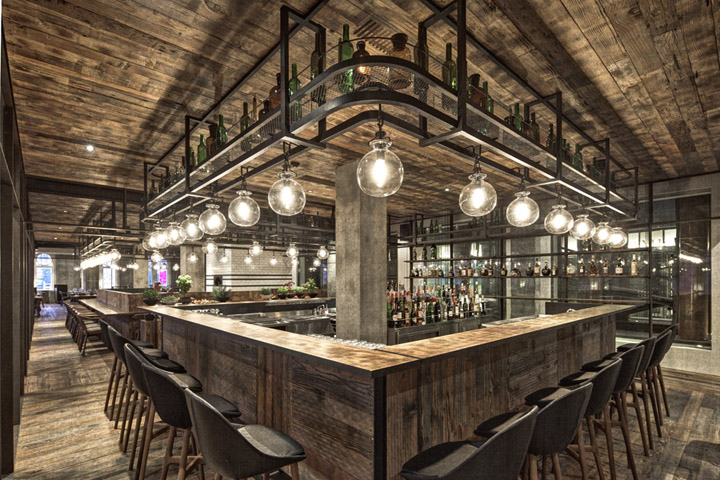 Mercato Restaurant By NeriampHu Shanghai Retail Design Blog
