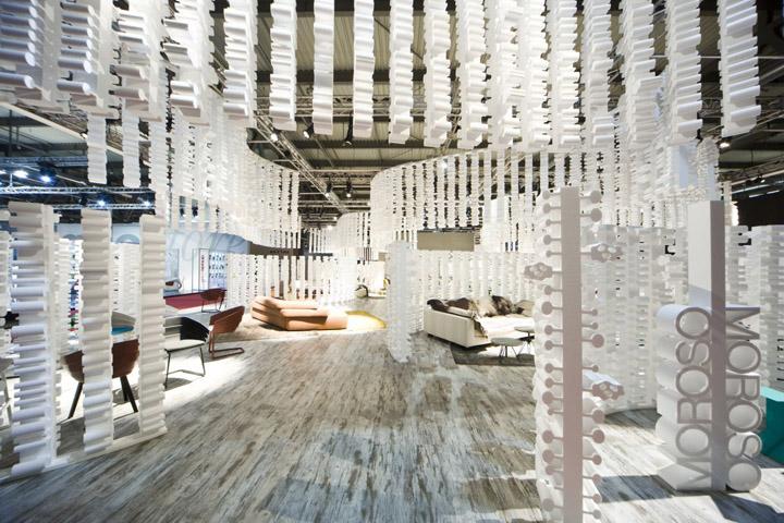 Moroso at salone del mobile 2010 milan retail design blog for Fiera del design