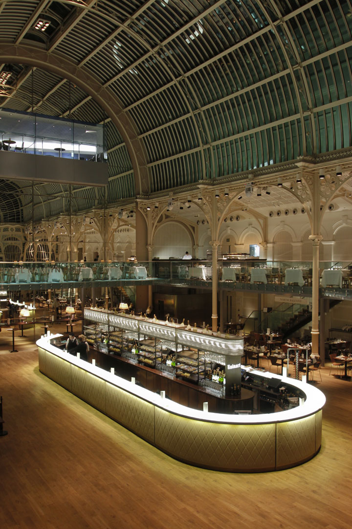 187 Paul Hamlyn Hall Champagne Bar By B3 Designers London