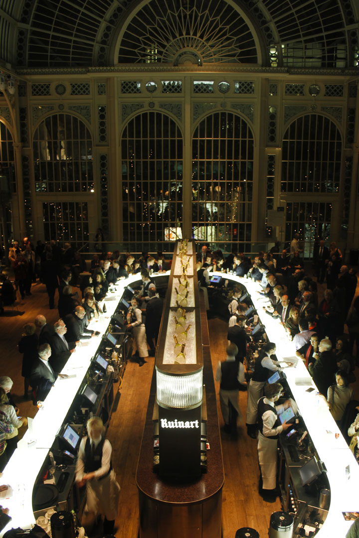 Paul Hamlyn Hall Champagne Bar By B3 Designers London