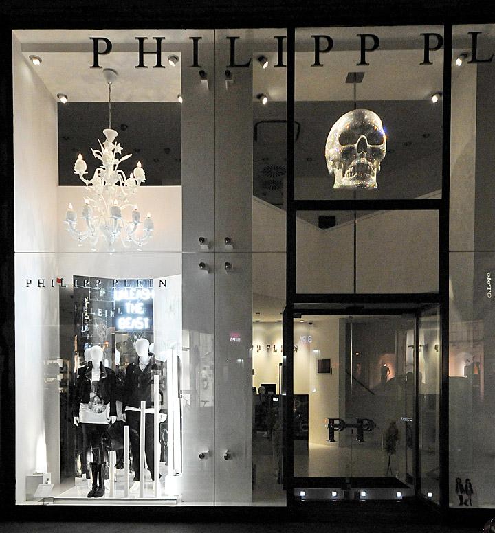 » Philipp Plein window displays Autumn 2012, Vienna