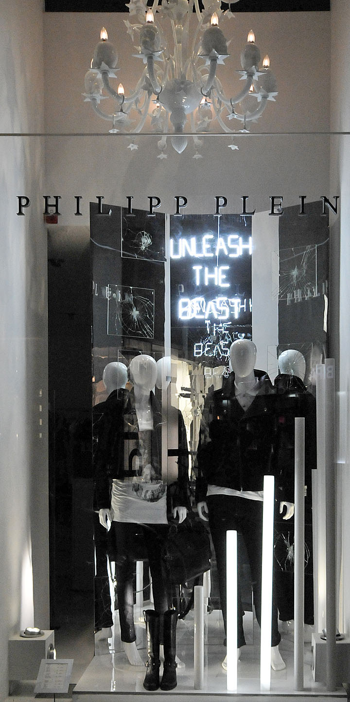 Philipp Plein Window Displays Autumn 2012 Vienna 187 Retail