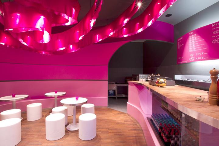pizza restaurantdesignyougo, berlin » retail design blog