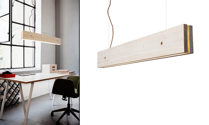 187 Plank Light Fixture By Northern Lighting