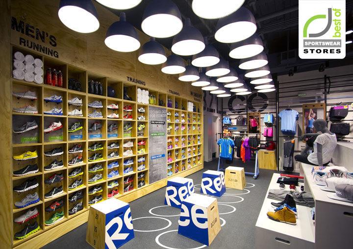 SPORTSWEAR STORES! Reebok Fit Hub store