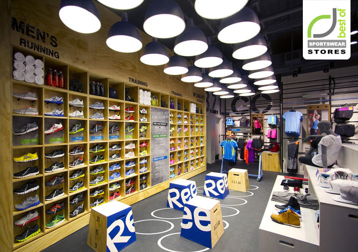 Sportswear retail design blog for Store building design