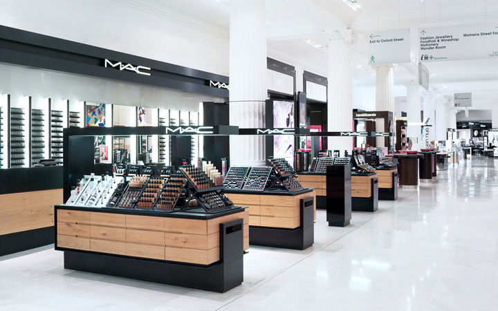 Beauty stores selfridges beauty hall by hmkm london for Exterior standalone retail