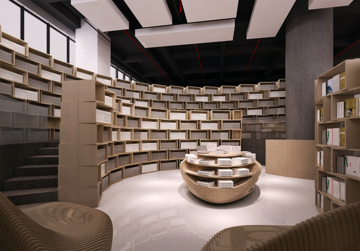 Tongji Bookstore By Archi Union Architects Shanghai
