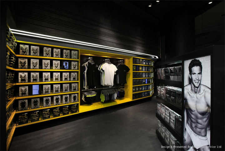 UM men's underwear store by AS Design, Shenzhen » Retail Design Blog