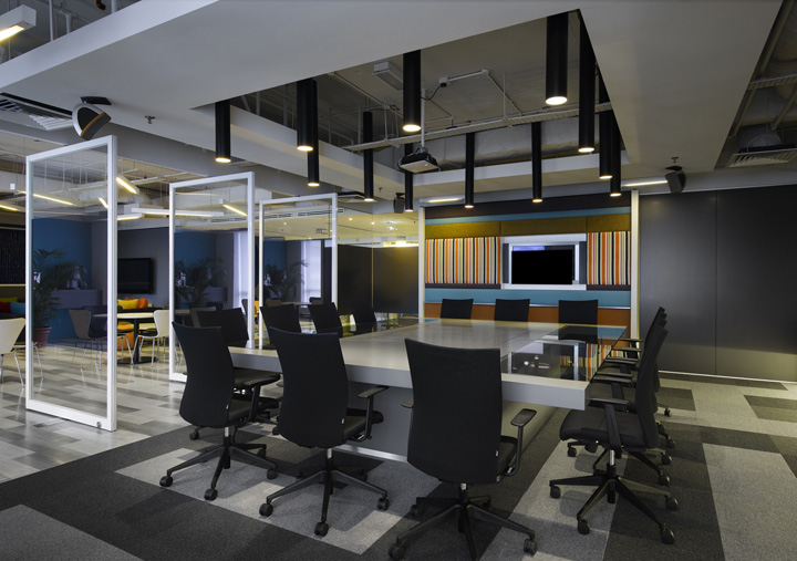 Y r collaborative office by m moser associates kuala Collaborative workspace design