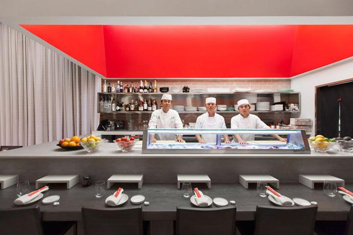 Sushi Restaurant Design yojisan sushi restaurantdan brunn, beverly hills » retail