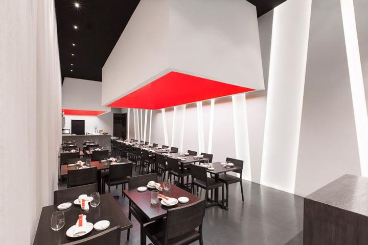 Sushi Restaurant Design sushi bar » retail design blog