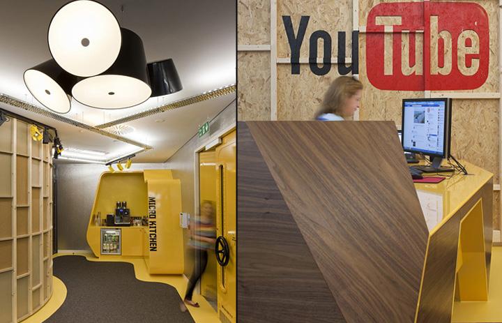 Youtube Offices youtube officespenson group, london » retail design blog