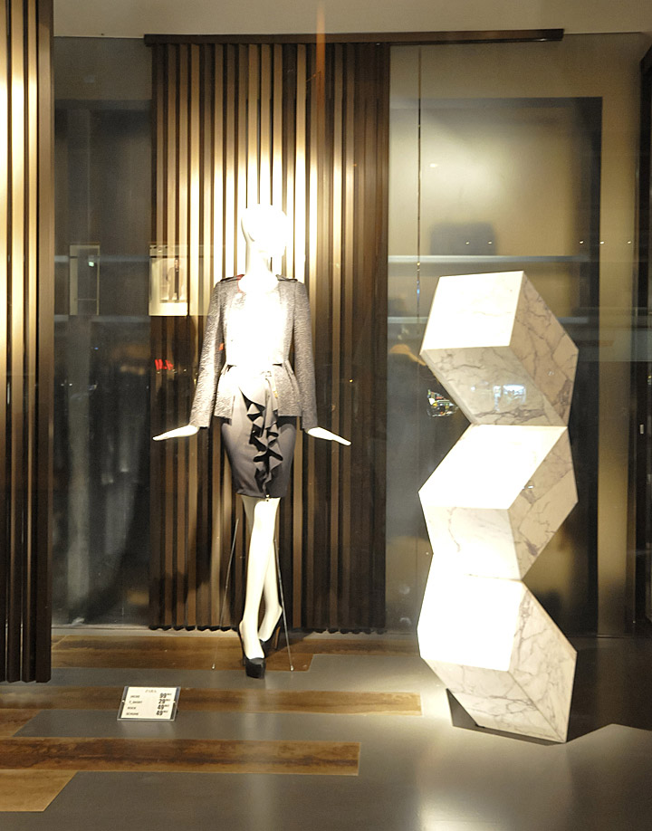 Zara Window Displays Autumn 2012 Vienna 187 Retail Design Blog