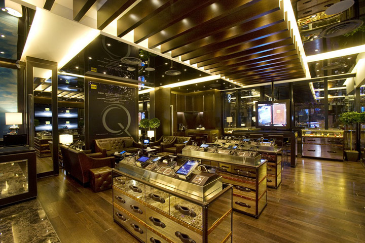 1010 tsim sha tsui flagship store by clifton leung design workshop hong kong retail design blog. Black Bedroom Furniture Sets. Home Design Ideas