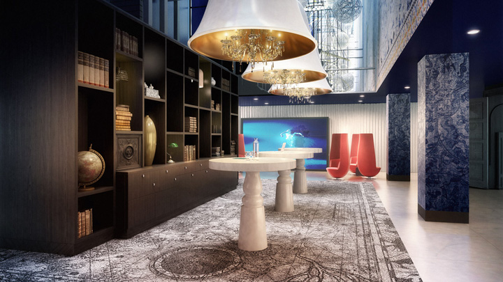 Andaz amsterdam hotel by marcel wanders amsterdam for Design hotels amsterdam