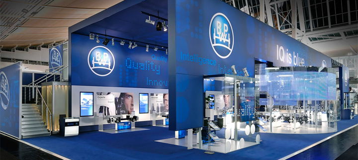 Exhibition Booth Design Germany : Bpw trade fair stand by walbert schmitz hanover germany