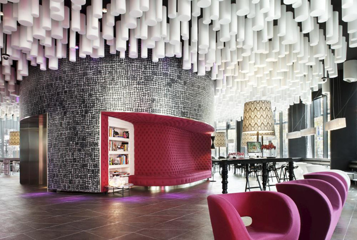 Barcel raval hotel by cmv architects barcelona retail for Hotel design barcelone