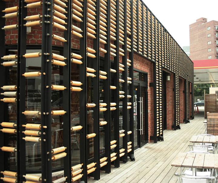 Breadbox café by oda architecture new york retail