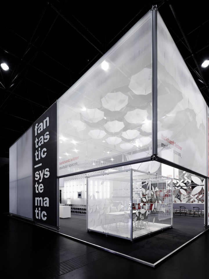 Simple Exhibition Stand Here Alone : Burkhardt leitner fair stand at euroshop by ippolito