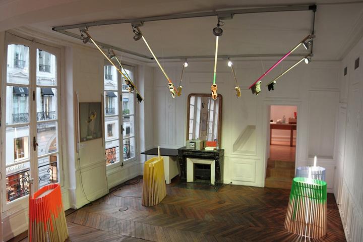 Camper tienda instalación por instalación François Dumas París tienda Camper 02 por François Dumas, Paris