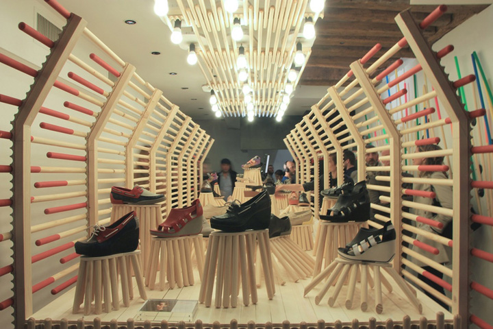 Camper Shop Installation By Fran 231 Ois Dumas Paris 187 Retail