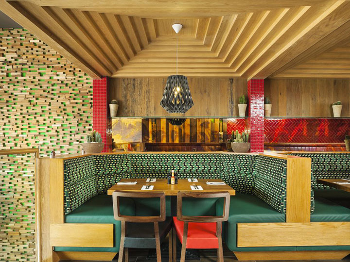 Chimichanga Mexican Restaurant By Brown Studio Billericay