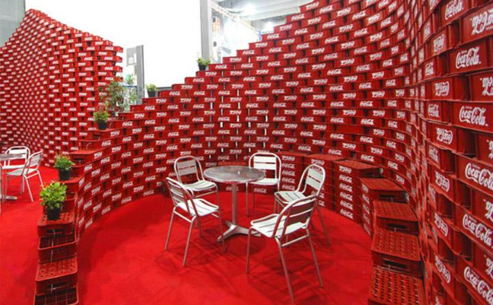 187 Coca Cola Upcycling Pavilon At Expo Cihac By Bnkr