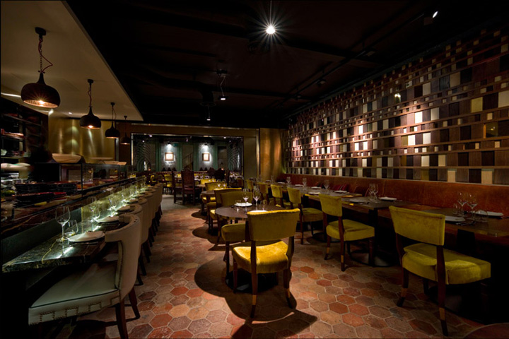 Coya peruvian restaurant by sagrada london retail for Restaurant design london