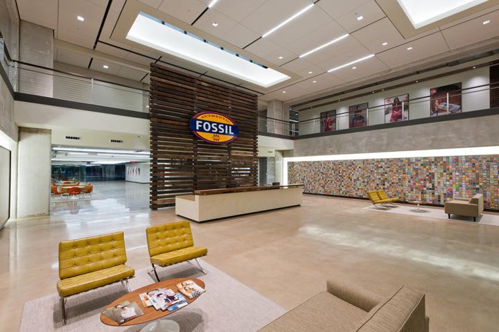 187 Fossil Headquarters By Corgan Associates Richardson Texas