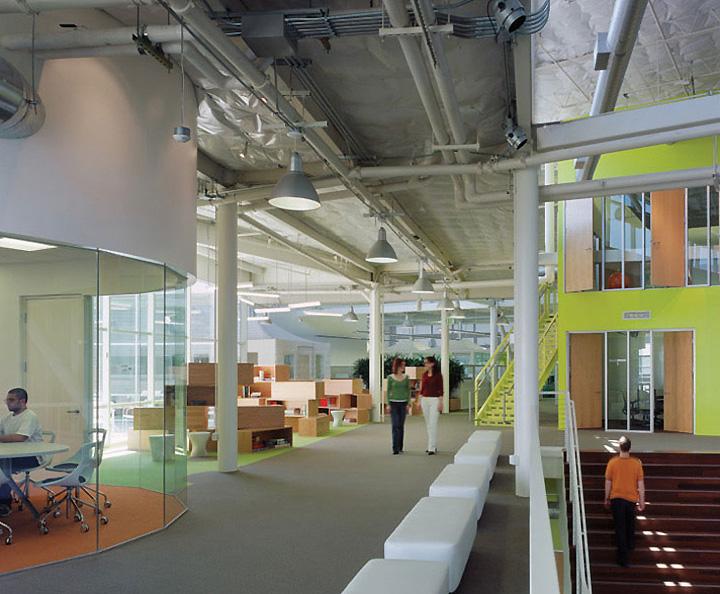 Googleplex offices mountain view - Interior design universities in california ...