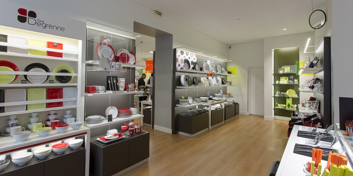 Guy Degrenne store by Brio Toulouse 02 Guy Degrenne store by Brio, Toulouse