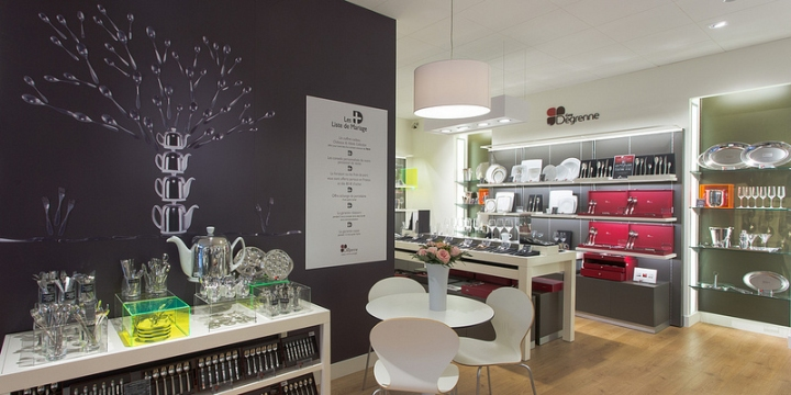 Guy Degrenne store by Brio Toulouse 05 Guy Degrenne store by Brio, Toulouse