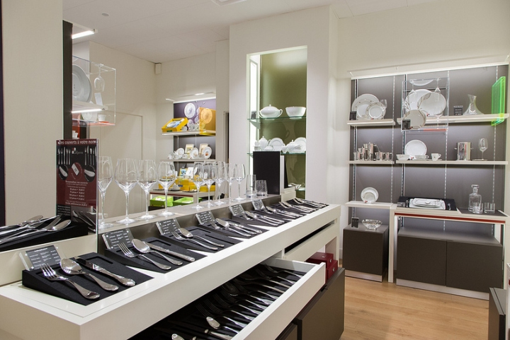 Guy Degrenne store by Brio Toulouse 08 Guy Degrenne store by Brio, Toulouse
