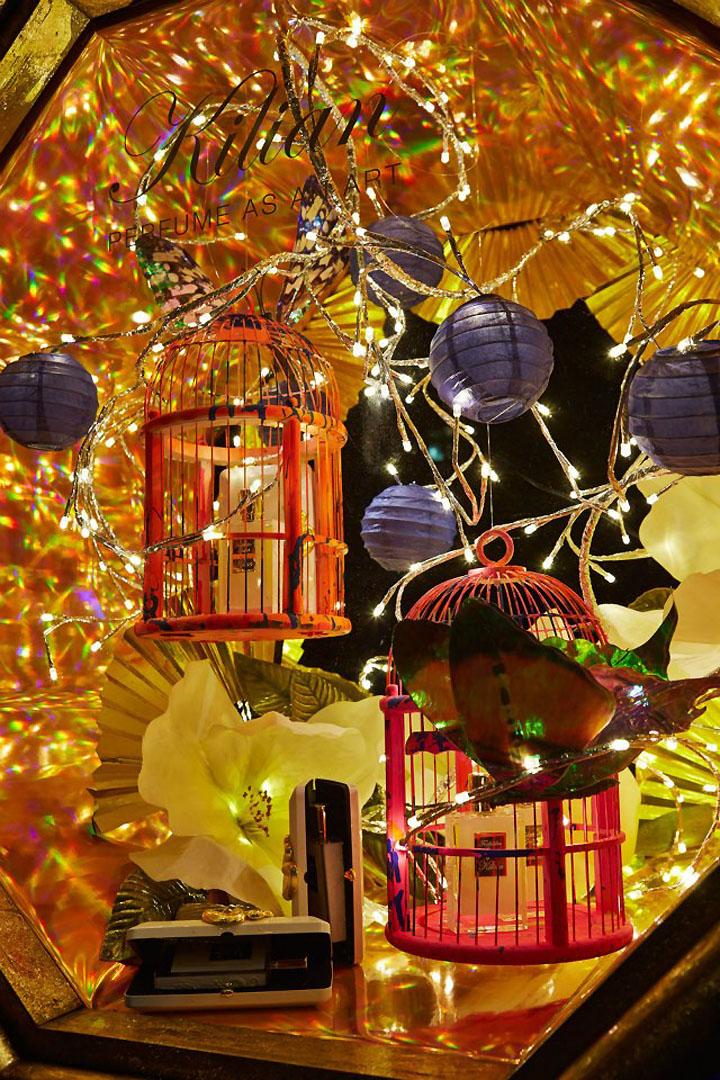 Harvey Nichols Christmas Windows 2012 London 187 Retail