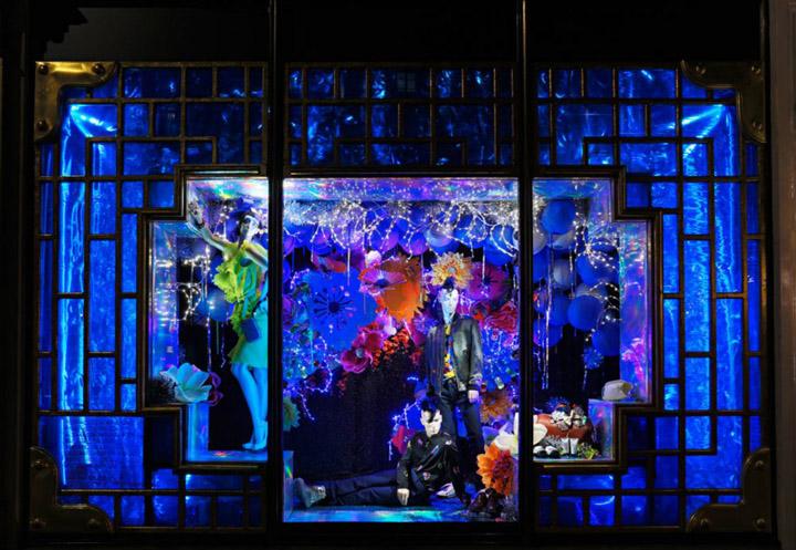 Fabulous Christmas Window Retail Design Blog Easy Diy Christmas Decorations Tissureus