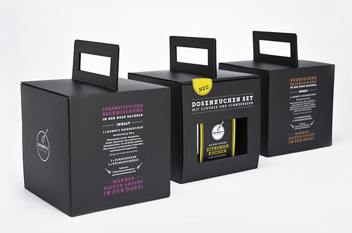 Henrys Dosenkuchen Promotion amp Packaging By Anna Weist Retail