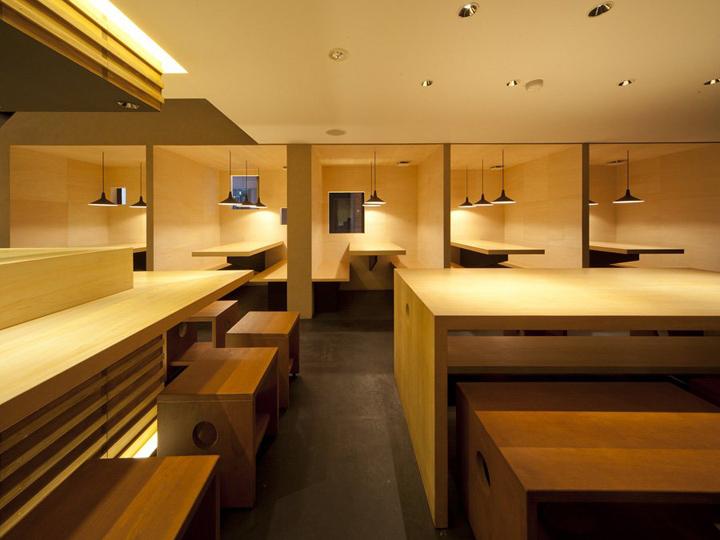 Japanese noodle restaurant by stile ietsugu ohara osaka
