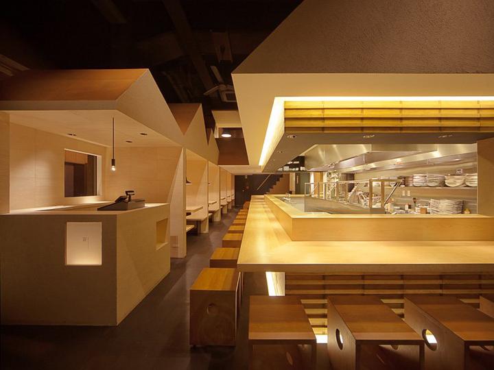 Minimalist house singapore - Japanese Noodle Restaurant By Stile Ietsugu Ohara Osaka
