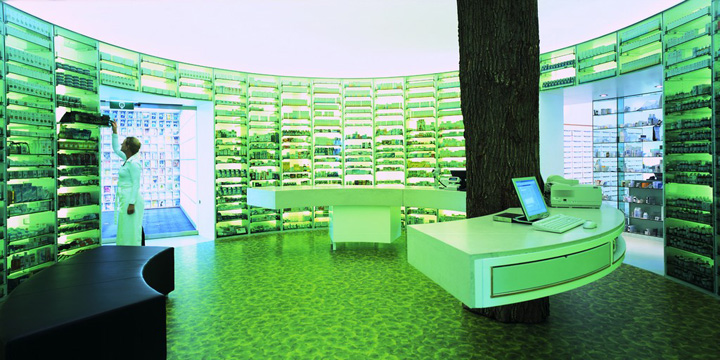 Lairesse pharmacy Concrete Architectural Associates Amsterdam 02 Lairesse pharmacy by Concrete Architectural Associates, Amsterdam