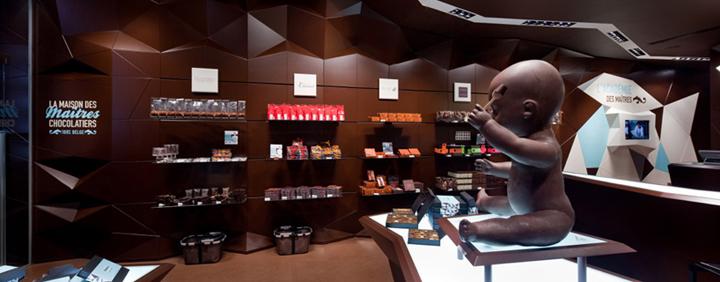 Maison des Maitres Chocolatiers Belges Minale Design Strategy Brussels 02 CHOCOLATIER! Maison des Maîtres Chocolatiers Belges by Minale Design Strategy, Brussels