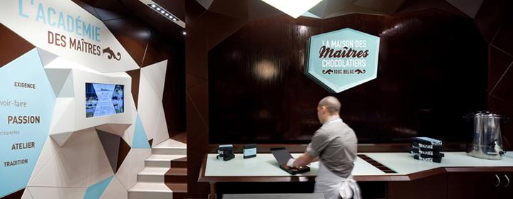 Maison des Maitres Chocolatiers Belges Minale Design Strategy Brussels 03 CHOCOLATIER! Maison des Maîtres Chocolatiers Belges by Minale Design Strategy, Brussels