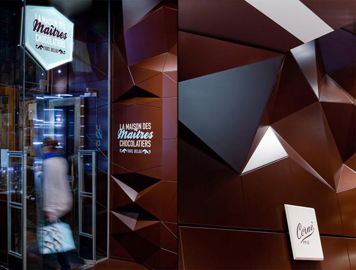 Maison des Maitres Chocolatiers Belges Minale Design Strategy Brussels 05 CHOCOLATIER! Maison des Maîtres Chocolatiers Belges by Minale Design Strategy, Brussels