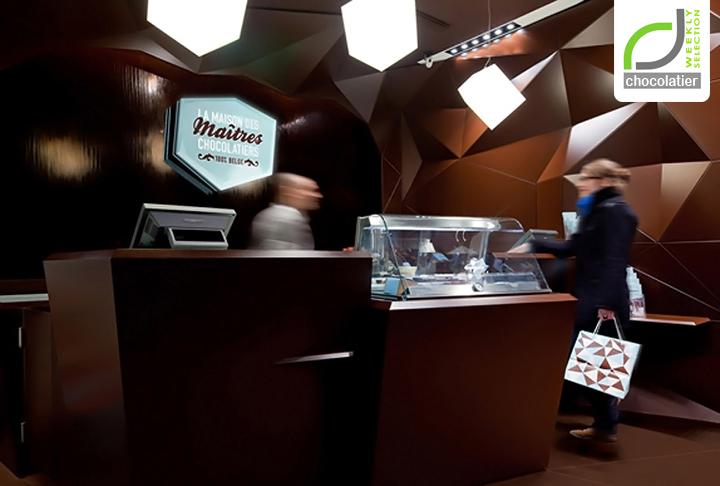 Maison des Maitres Chocolatiers Belges Minale Design Strategy Brussels CHOCOLATIER! Maison des Maîtres Chocolatiers Belges by Minale Design Strategy, Brussels
