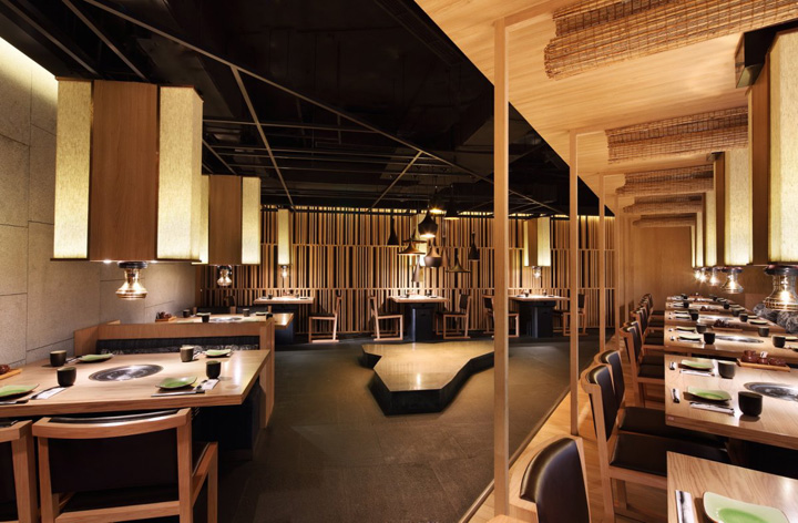 Matsumoto restaurant by golucci international design Restaurant interior design pictures