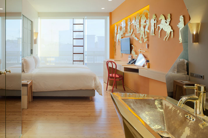 New hotel by humberto and fernando campana athens for Designhotel athen