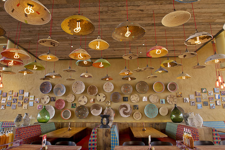Nando s restaurant by b designers leigh uk retail
