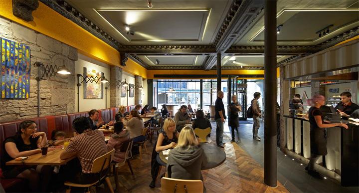 Nando s restaurant by buckleygrayyeoman dundee uk