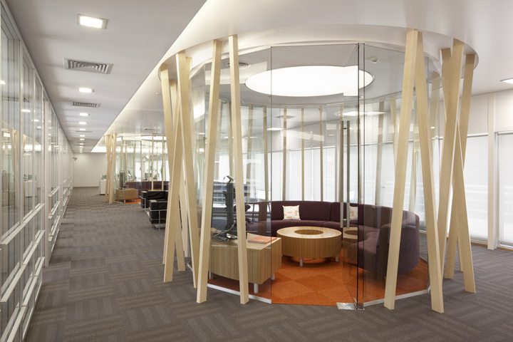 Nextel argentina head office by contract argentina buenos for Cool office rooms