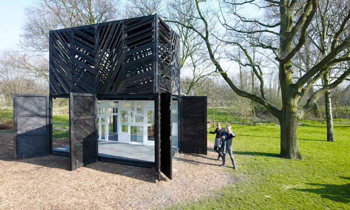Noorderparkkamer Cafe By Bureau Sla Overtreders W